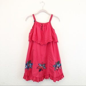 Catimini | Girls Youth 12 Sun Dress Embroidered